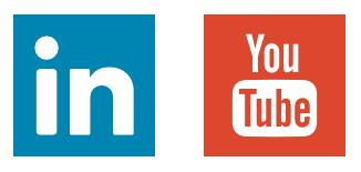 Linkedin Youtube Logos